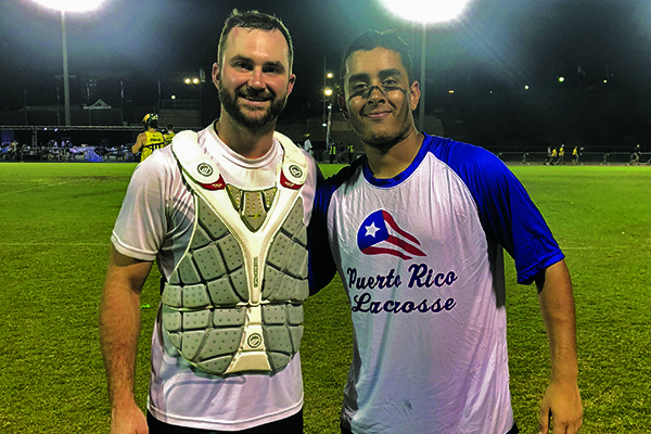 Tomas Rodriguez '15 and Ryan Spark '06