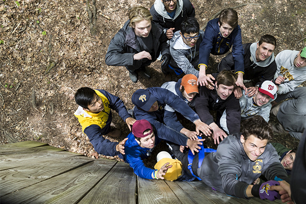 Trinity-Pawling Ropes Course