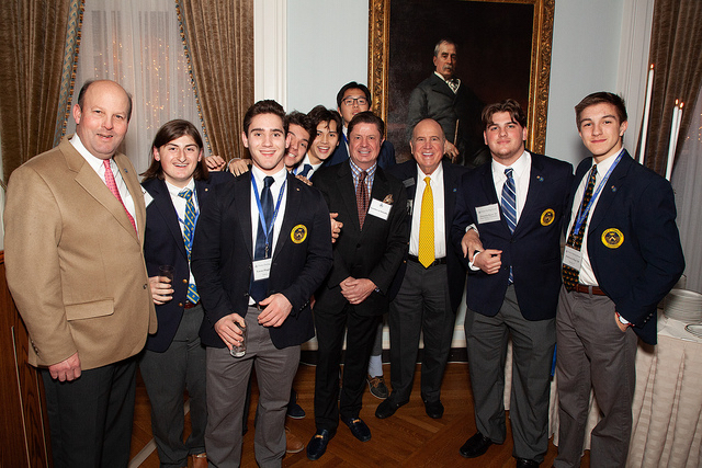 Trinity-Pawling Reception in New York City