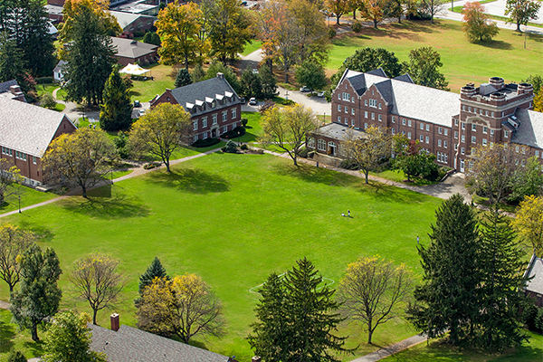 The beauty of the Trinity-Pawling campus