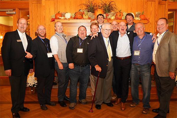 Headmaster Bill Taylor with Trinity-Pawling School Alumni