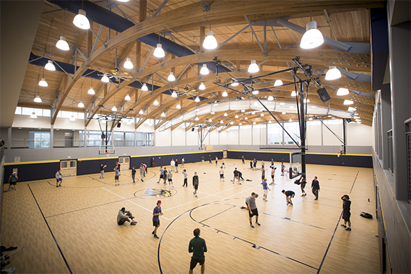 Trinity-Pawling Smith Field House activities