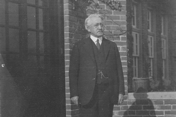 Dr. Frederick Luther Gamage, Founder of Trinity-Pawling School