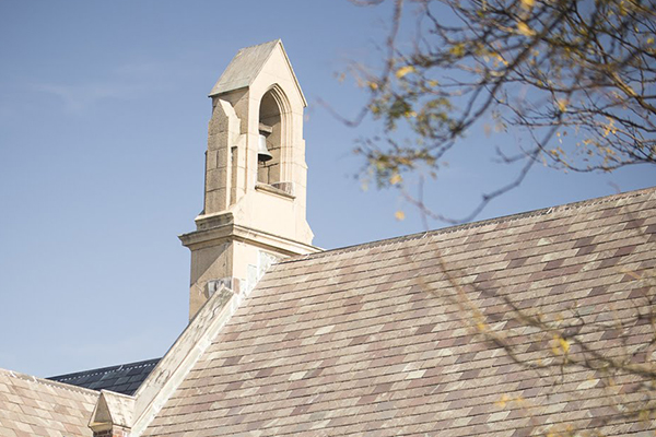 Chepel bell at Trinity-Pawling School