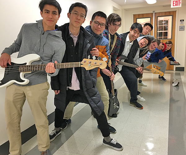 Trinity-Pawling Jazz Band 2019-20