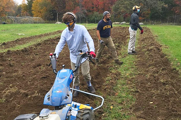 Varsity Farming at Trinity-Pawling School
