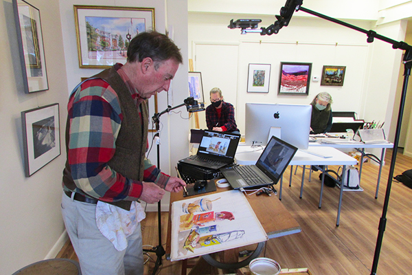 Artist-In-Residence Ned Reade