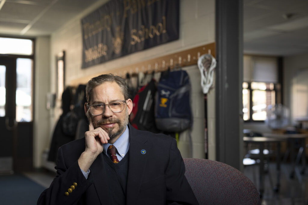 Trinity-Pawling faculty member Todd Hoffman